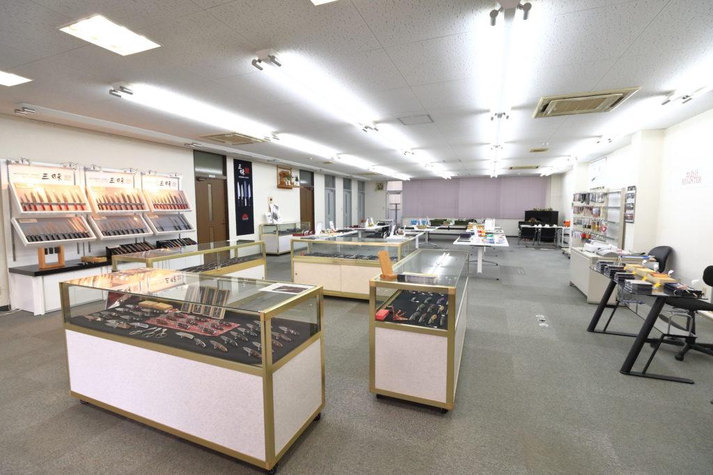 mcusta showroom in Japan